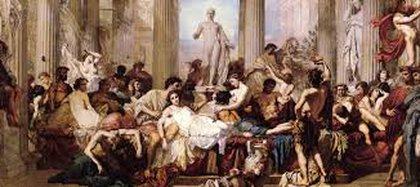 Las fiestas saturnales eran sinónimo de festejos descontrolados.