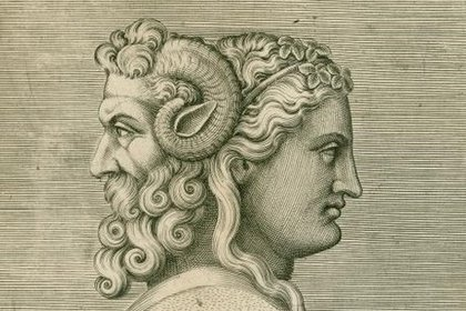 Jano era representado con dos rostros: uno joven y otro anciano, que simbolizaban el año que venía y el que se iba.