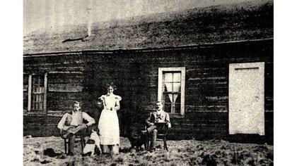 Butch Cassidy, Sundance Kid y Ethel en su cabaña en el sur (History Collection)