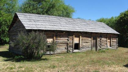 La cabaña de Butch Cassidy en la Patagonia (Prensa Esquel)