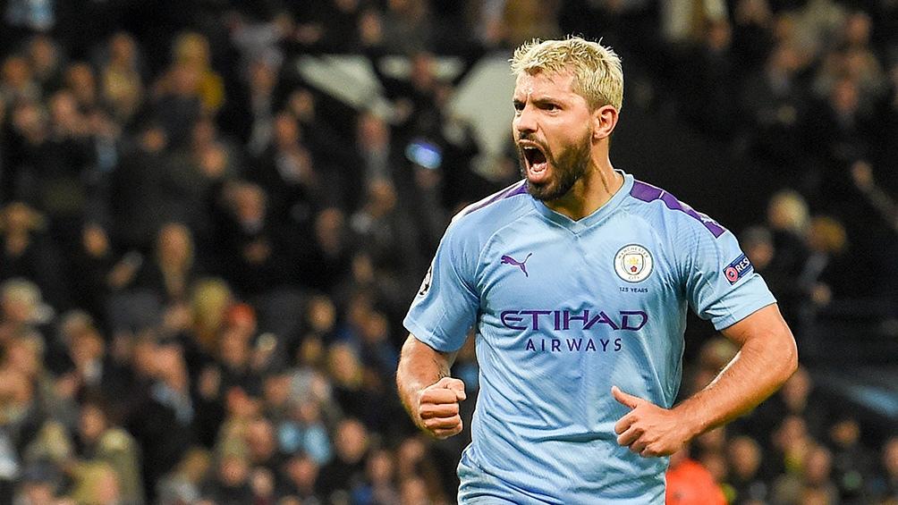 """El """"Kun"""" Agüero es el máximo goleador histórico de Manchester City y en los nueve años que lleva en el club conquistó doce títulos."""