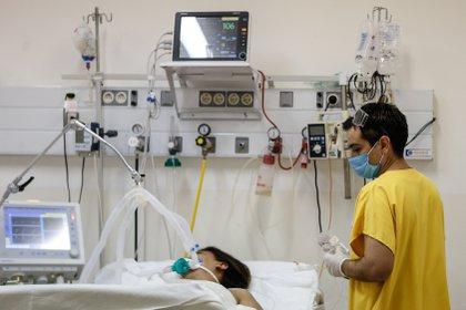 La Universidad Nacional Autónoma de México (UNAM) informó que ofrecerá un taller rehabilitación pulmonar que busca ayudar en el proceso de recuperación de quienes padecieron del nuevo virus Covid-19. EFE/Juan Ignacio Roncoroni/Archivo
