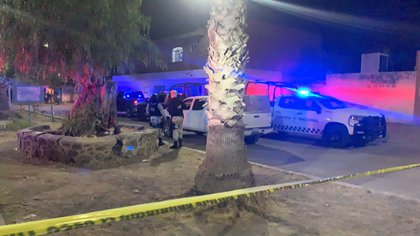 Ejecutan a 9 personas en un velorio de Celaya, Guanajuato (Foto: Crónica Guanajuato Twitter @CronicaGto)