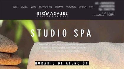 Por internet se ofrecen servicios de masaje tántrico y también cursos de esta terapia