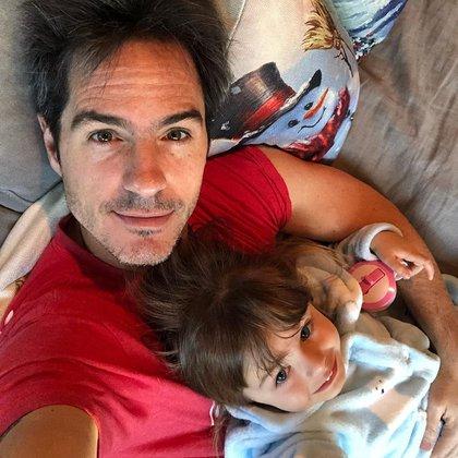 Ochmann se encuentra disfrutando a su hija durante las vacaciones de Aislinn (Foto: Instagram @mauochmann)