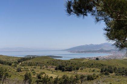 FOTO DE ARCHIVO: Paisaje del distrito de Urla de la provincia de Esmirna