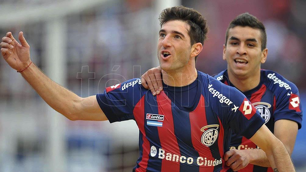 Piatti volvió a San Lorenzo luego de seis años en el fútbol de Estados Unidos.