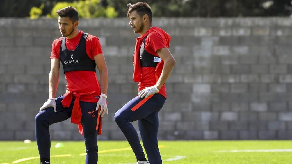 Los gemelos Ángel y Óscar Romero fueron los últimos en reintegrarse a las prácticas de San Lorenzo, después del aislamiento por la pandemia.