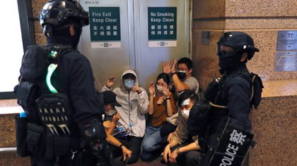 Represión en Hong Kong. (Reuters)