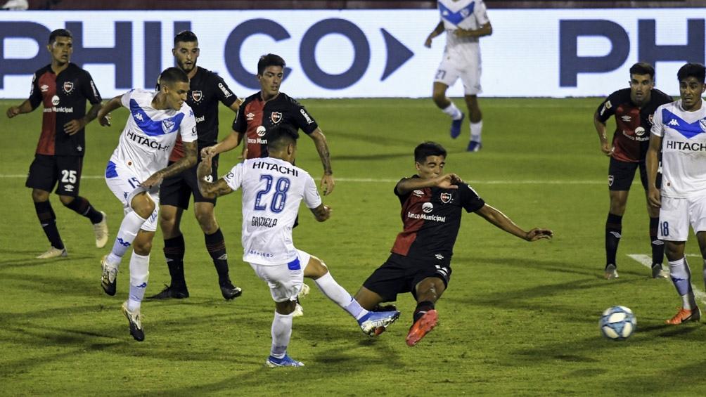 El gol de la victoria fue convertido por el defensor Miguel Brizuela, a los 30