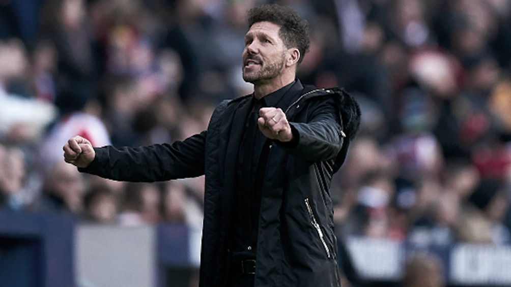 Simeone y el plantel se mostraron conformes con la decisión del club.