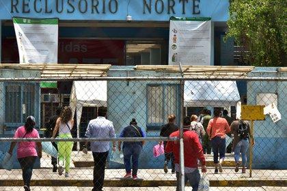 La audiencia se realizó en el reclusorio Norte (Foto: Cuartoscuro)