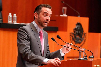 Jorge Luis Lavalle, exsenador de la República, fue citado por la FGR para comparecer sobre el caso Lozoya (Foto: Senado de México)