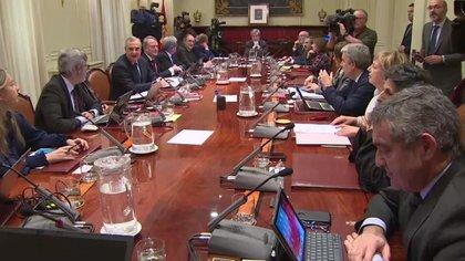 16/01/2020 Reunión del Consejo General del Poder Judicial (CGPJ). ESPAÑA EUROPA MADRID POLÍTICA EUROPA PRESS TELEVISIÓN
