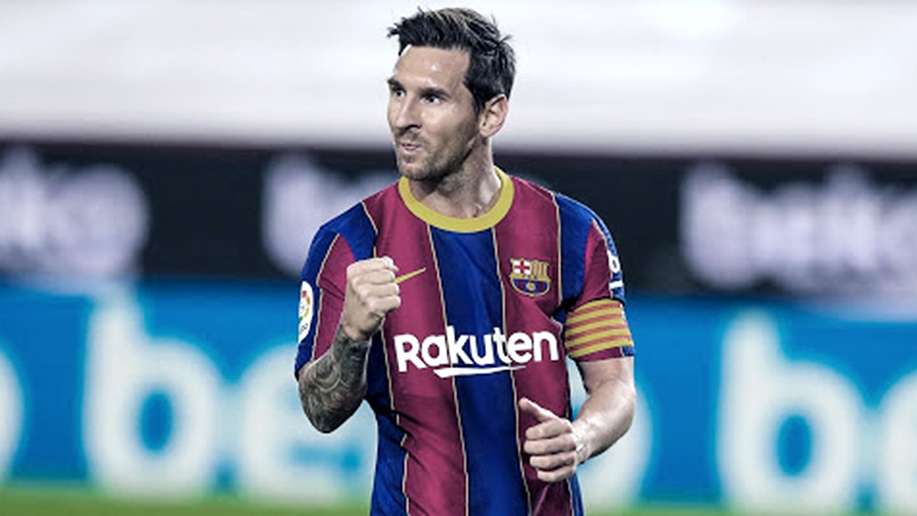 Messi también tuvo un gesto con Conmebol con la que tuvo varios cruces.