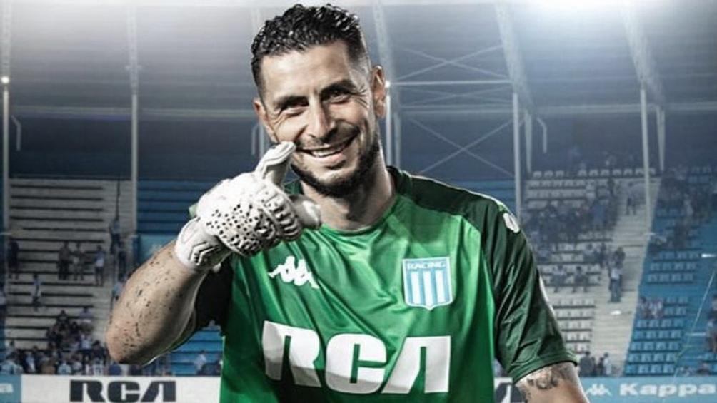 Gabriel Arias, el héroe de la noche. (foto archivo)
