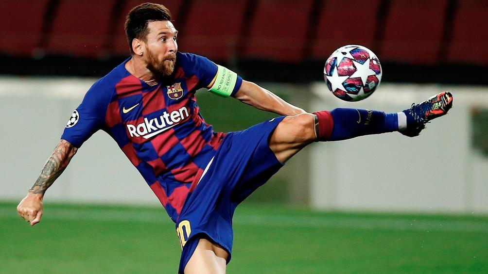 Messi y el Barcelona juegan en Madrid el clásico ante el Real (foto archivo)