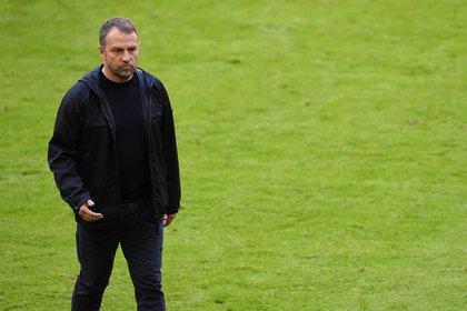 Hansi Flick podría abandonar el banquillo del Bayern Múnich (Reuters)