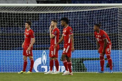 El Bayern se despidió de la Champions League en cuartos de final (Reuters)