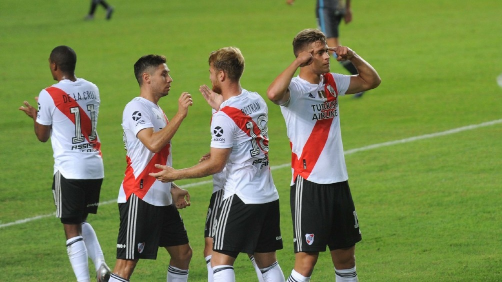 "Federico Girotti marcó un doblete para el ""Millo""."