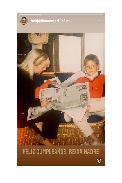 La historia de Vicuña saludando a su mamá