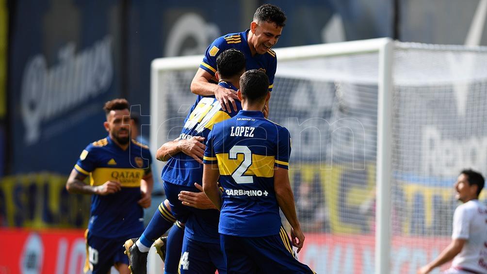Boca se consolida en la Copa Liga Profesional.