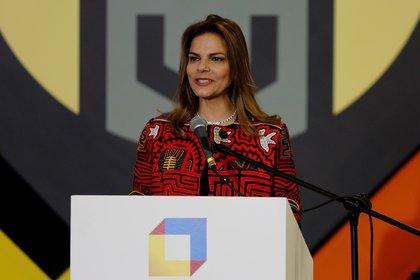 En la imagen, la presidenta de Procolombia, Flavia Santoro. EFE/Leonardo Muñoz/Archivo