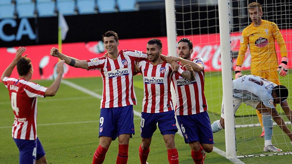 El Atlético Madrid busca la Liga.