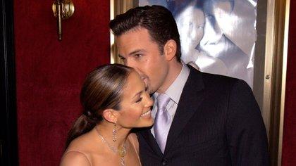 Jennifer Lopez y Ben Affleck separaron oficialmente en 2004 (Getty Images)