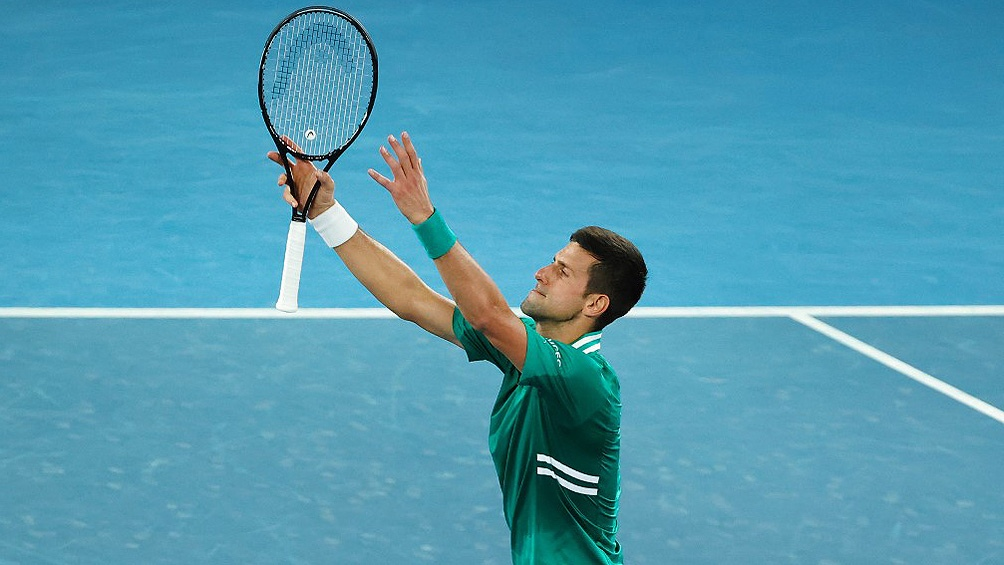 Djokovic era el máximo favorito y se llevó el título en Belgrado.