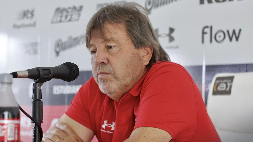 """El """"Ruso"""" Zielinksi, técnico de Estudiantes (foto archivo)."""