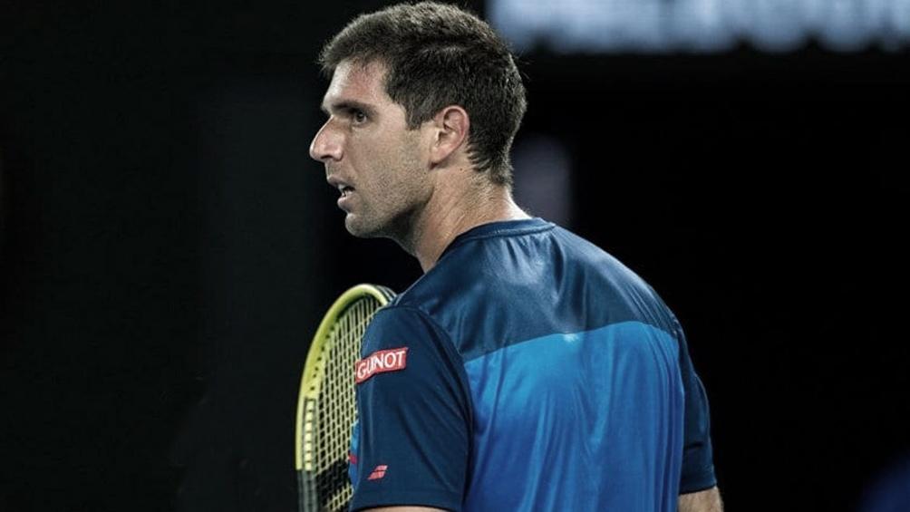 Federico Delbonis le ganó al moldavo Radu Albot por 6-1, 2-6, 6-0 y 6-1 en la primera ronda de Roland Garros.