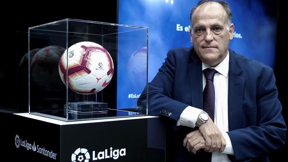 Tebas es un férreo opositor de la Superliga.