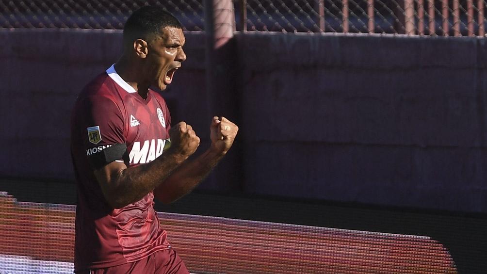 Lanús jugó en Paraguay ante La Equidad, equipo colombiano que no pudo ser local en su país (foto archivo)