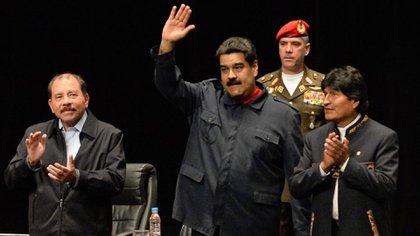 Daniel Ortega, Nicolás Maduro y Evo Morales, elogiados por el plan de Perú Libre