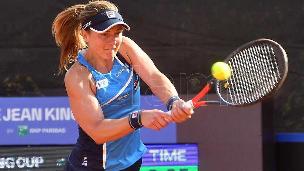 Podoroska enfrenta a una leyenda como Serena Willians.