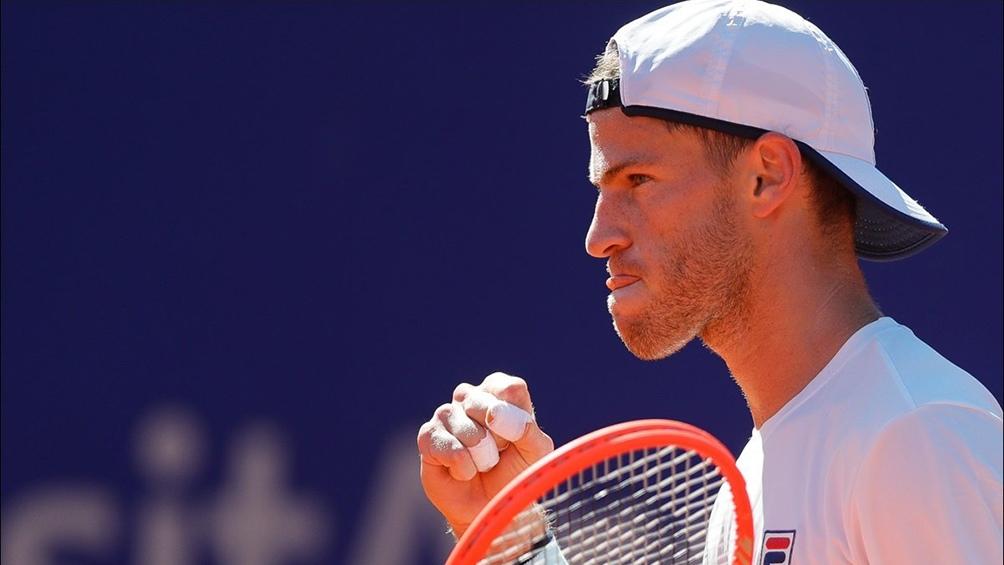 Diego Schwartzman mantuvo esta semana el décimo puesto en el ranking mundial de tenis