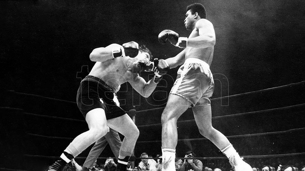 La histórica pelea del 7 de diciembre de 1970, ante Alí, fue transmitida por Canal 13, logrando 79,3 puntos de rating.
