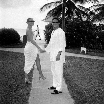 Su romance duró aproximadamente dos años Luis Miguel y Mariah Carey (Foto: Twitter@mundialdemusica)