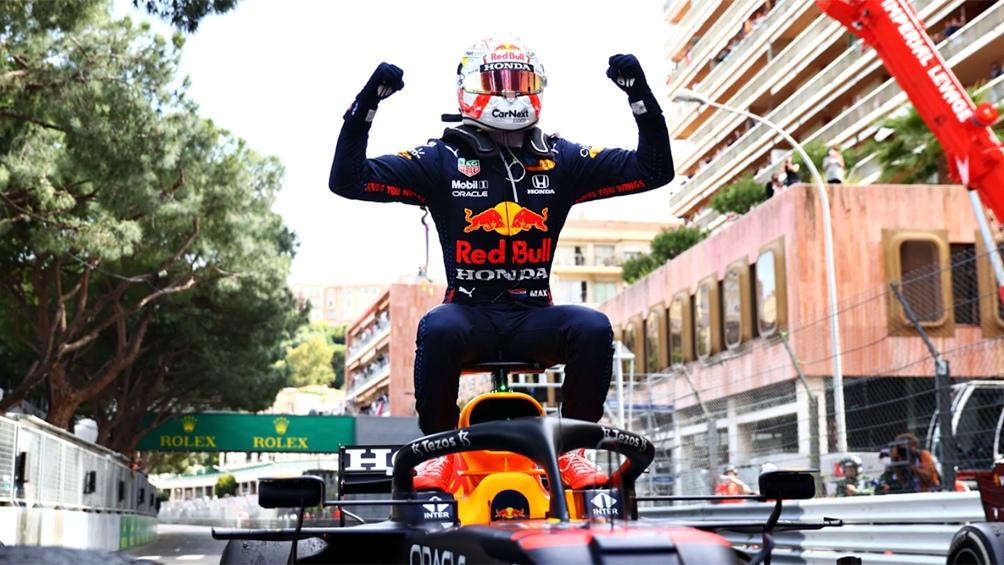 Verstappen, campeón en Mónaco.
