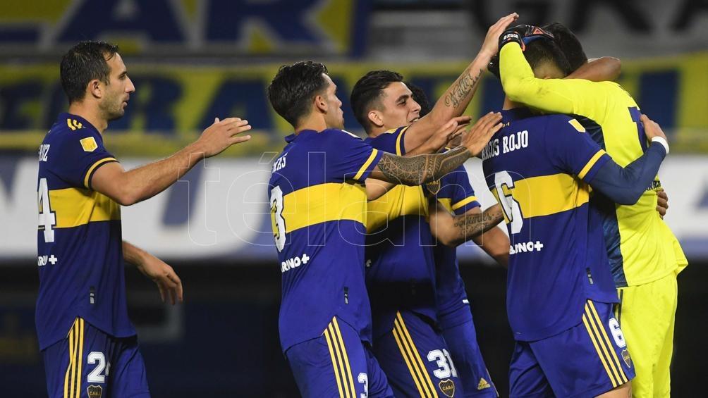 El último festejo de Boca: cuando le ganó a River por penales en los cusrtos de la Copa de la Liga.