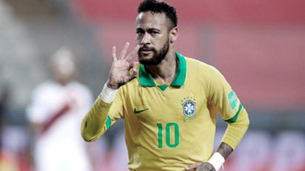 Neymar será titular frente a Ecuador