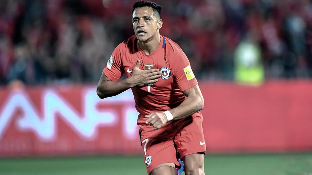 """Alexis Sánchez, ausente en la """"Roja"""" para el debut en la Copa América (foto archivo)"""