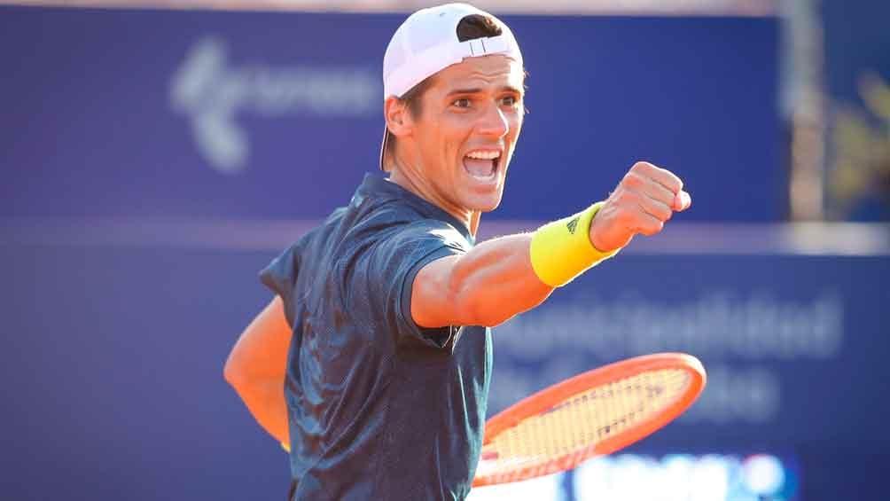 Coria está ubicado en el puesto 103 del ranking mundial de la ATP