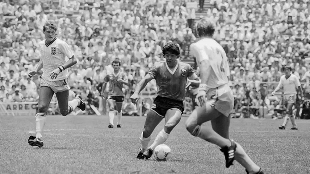 Maradona y la corrida de todos los tiempos.