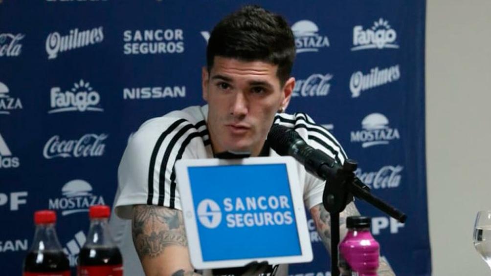 """El futbolista de 27 años explicó que el equipo de Lionel Scaloni sigue """"en una posición bastante favorable""""."""