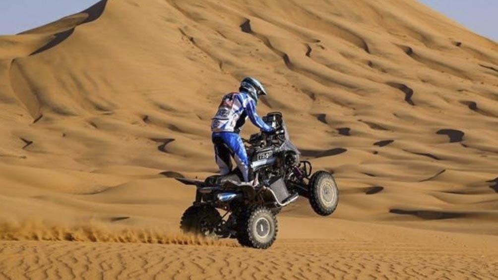 Manuel Andújar triunfó en la categoría quads.