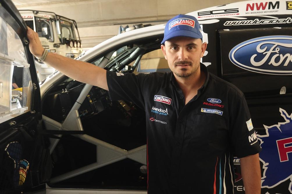 Lucio Álvarez se llevó las palmas en la categoría autos.