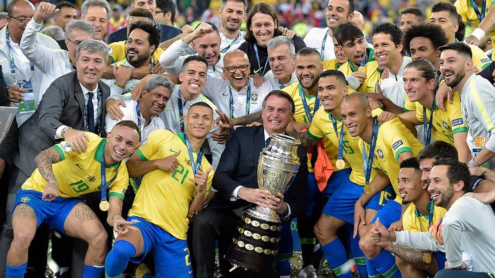 Brasil jugará la Copa América que comenzará el domingo próximo