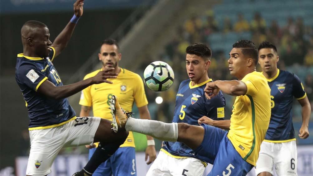 """Casemiro, la voz de la """"verdeamarelha sobre la realización de la Copa América en Brasil (foto AFP- archivo)"""